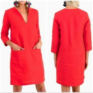 NWT Emerson Fry Mod dress in red linen